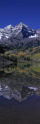 White River Photograph - Panoramic View Of Autumn Colors by Panoramic Images