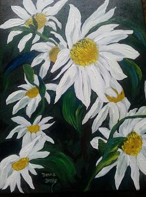 Painting - Daisies by Donna Drake