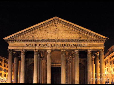 Photograph - Pantheon North by Angela Rath