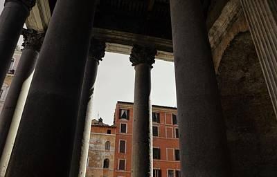 Photograph - Pantheon Pillar View by JAMART Photography