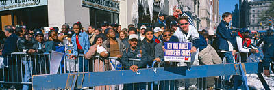 Ny Yankees Photograph - Parade For 1998 World Series Champions by Panoramic Images