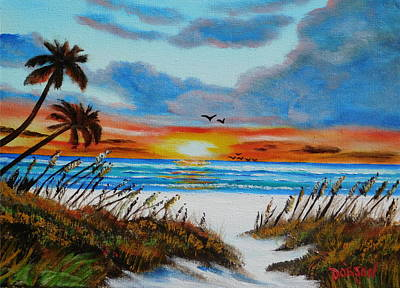 Painting - Paradise by Lloyd Dobson