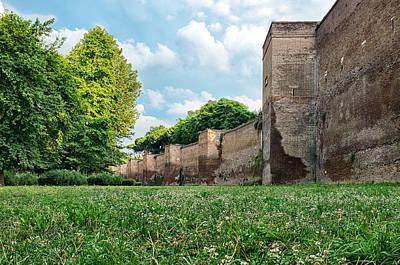 Photograph - Parco Delle Mura Aureliane by Fabrizio Troiani