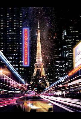 Paris 2030 Art Print