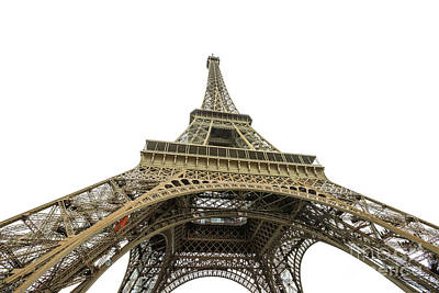 Photograph - Paris Eiffel Tower by Benny Marty
