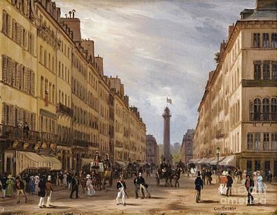 Paris Art Print by Celestial Images