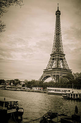 Paris In The Spring Art Print by Miguel Winterpacht