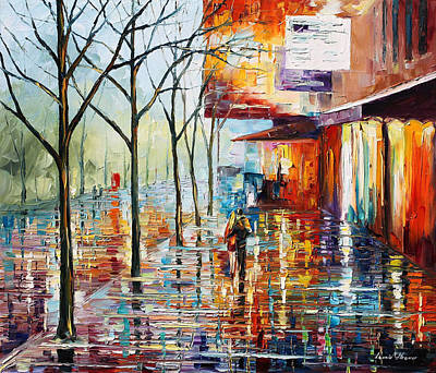 Paris Original by Leonid Afremov