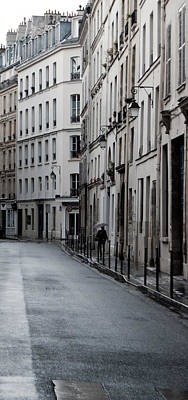 Photograph - Paris Neighborhood - Marais - No Right Turn by Jani Freimann