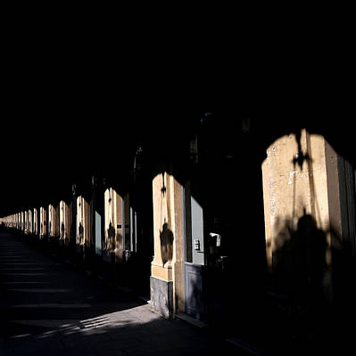 Photograph - Paris Shadows 2 by Andrew Fare
