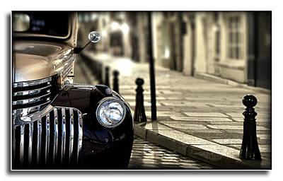 Photograph - Paris Street Scene by Radoslav Nedelchev