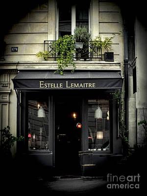 Photograph - Parisian Shop by Karen Lewis