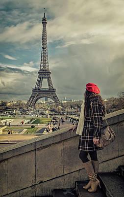 Parisien Art Print by Pablo Lopez