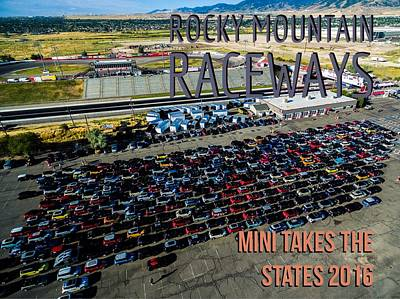 Photograph - Park / Salt Lake City Rise/shine 2 W/text by That MINI Show