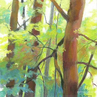 Painting - Park Walk 2 by Melody Cleary