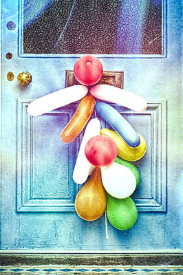 Whimsical Drawings Photograph - Party Balloons by Tom Gowanlock