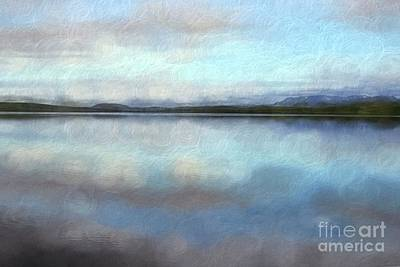 All American - Pastel landscape by Patricia Hofmeester