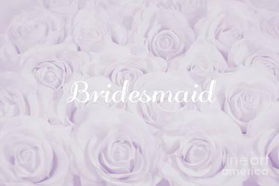 Pastel Purple Bride Art Print