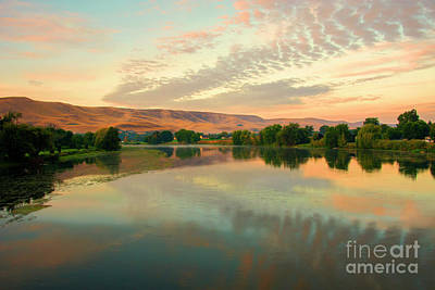 Photograph - Pastel Reflections by Mike Dawson