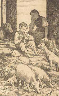 Relief - Pastoral by Treasury Classics Art