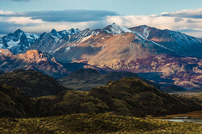 Photograph - Patagonia Mountains by Walt Sterneman
