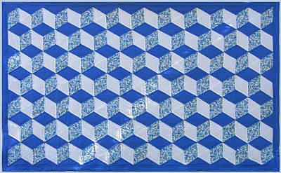 Eva Markos Tapestry - Textile - Patchwork Quilt 6 by Eva Sandor