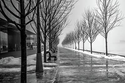 Photograph - Path Through Fog by Nicky Jameson