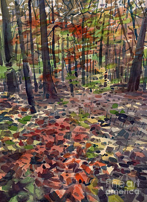 Path To Sope Creek Art Print by Donald Maier