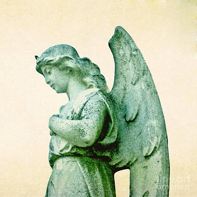 Photograph - Patina Angel by Valerie Fuqua