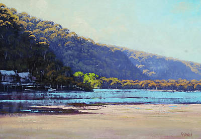 Nature Scene Painting - Patonga Creek by Graham Gercken