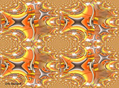 Digital Art - Pattern #8 by Iris Gelbart