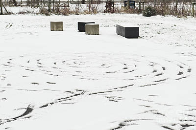 Photograph - Pattern In The Snow by Tom Gowanlock