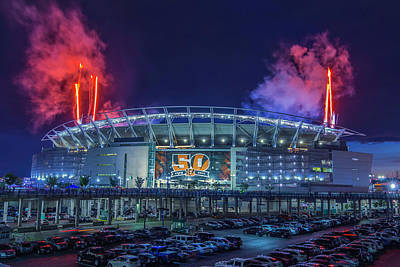 Photograph - Paul Brown Stadium by Scott Meyer