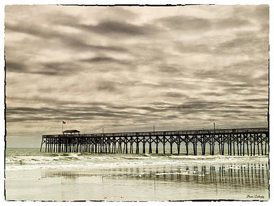 Photograph - Pawleys Island Pier by Fran Gallogly