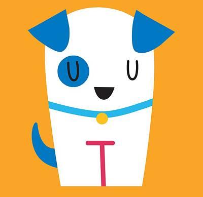 Digital Art - Pbs Kids Dog by Pbs Kids