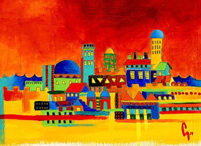 Sukkot Painting - Peace by Dawnstarstudios