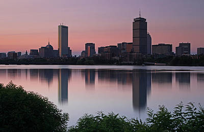 Peaceful Boston Art Print by Juergen Roth