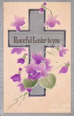 Digital Art - Peaceful Easter by David and Lynn Keller