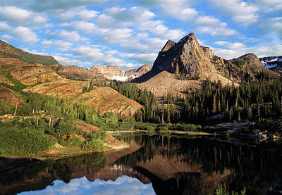 Photograph - Peaceful Mountain Lake by Utah Images