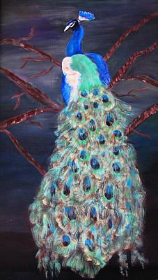 Peacock  Art Print by Mikki Alhart