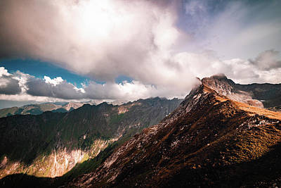 Photograph - Peak by Chris Thodd