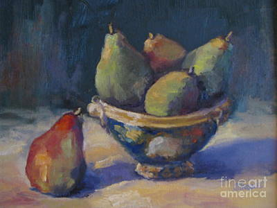 Painting - Pear Still Life by Sharon Franke