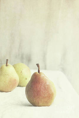 Photograph - Pears by Stephanie Frey