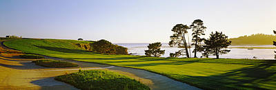Beach Scenes Photograph - Pebble Beach Golf Course, Pebble Beach by Panoramic Images