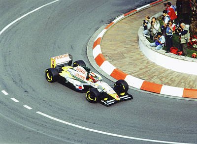 Painting - Pedro Lamy At Loews Hairpin by John Bowers