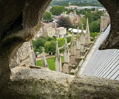 Photograph - Peeking At Ely by Jean Noren