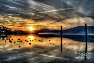 Photograph - Peekskill Sunset by Rafael Quirindongo
