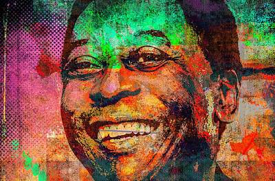 Pele Mixed Media - Pele by Svelby Art