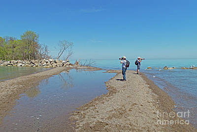 Photograph - Pelee Photo-shoot by Ann Horn