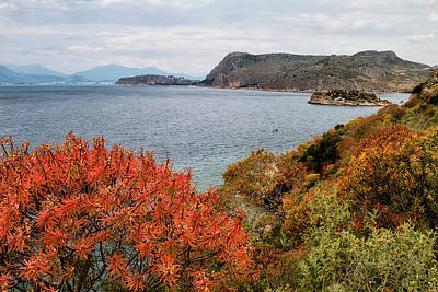Photograph - Peloponnes Peninsular, by Shirley Mitchell